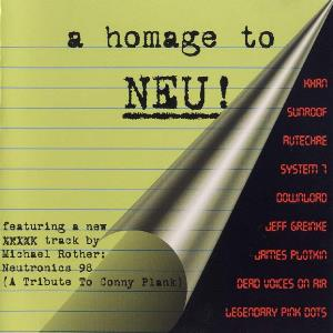 Various Artists (Tributes) A Homage To Neu! album cover
