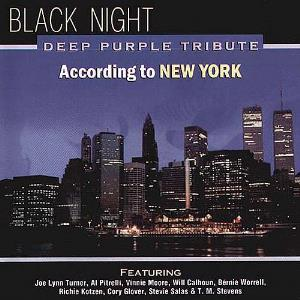 Various Artists (Tributes) Black Night, Deep Purple Tribute According To New York album cover