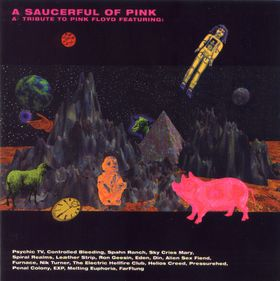 Various Artists (Tributes) A Saucerful Of Pink: A Tribute To Pink Floyd album cover