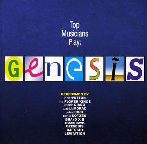 Top Musicians Play Genesis by VARIOUS ARTISTS (TRIBUTES) album cover