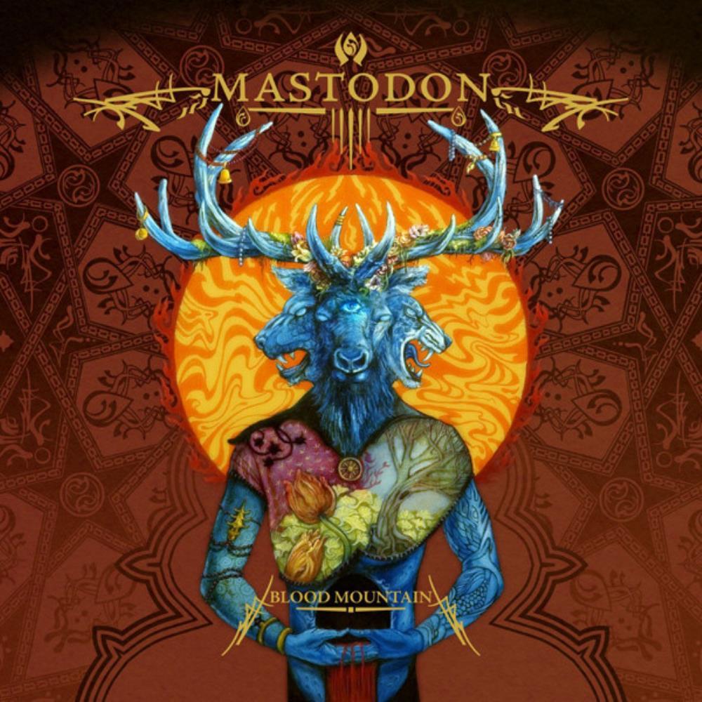 Blood Mountain by MASTODON album cover