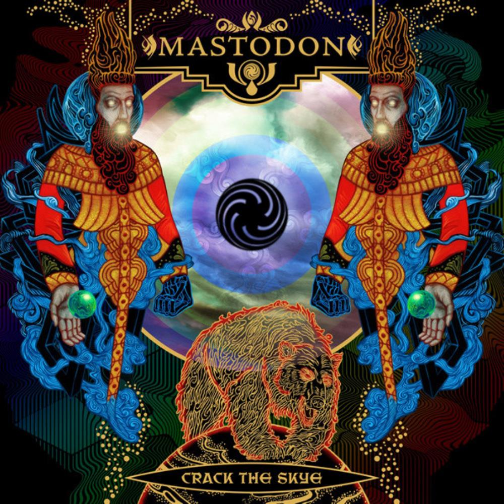 Mastodon - Crack The Skye CD (album) cover