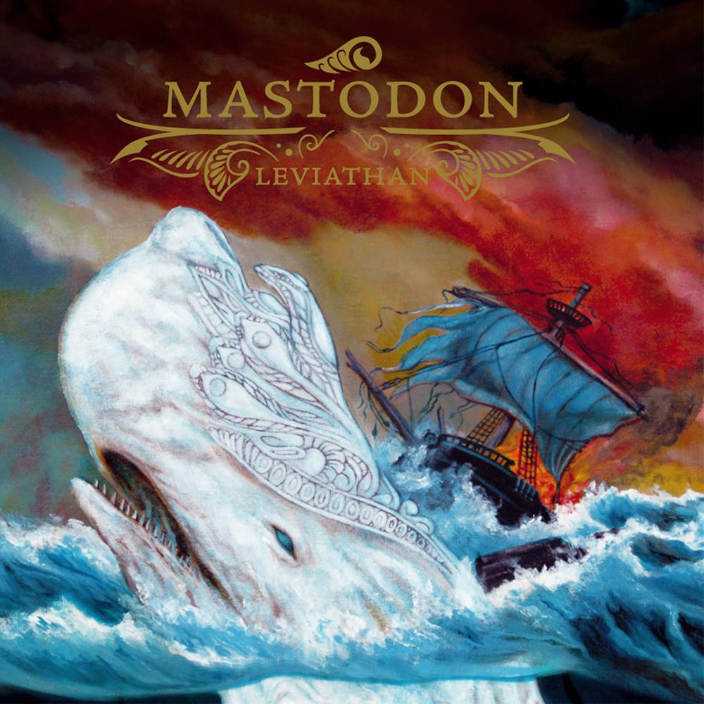 Leviathan by MASTODON album cover
