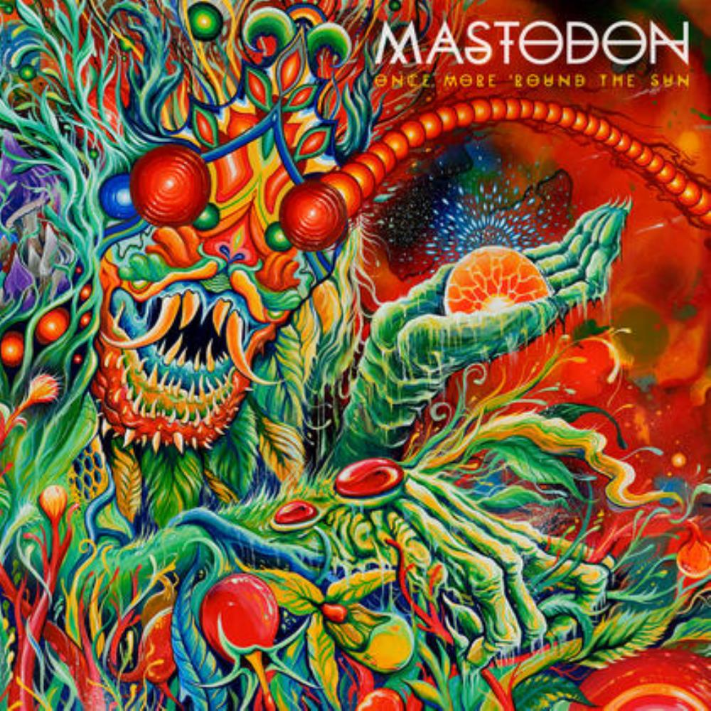 Mastodon - Once More 'Round The Sun CD (album) cover