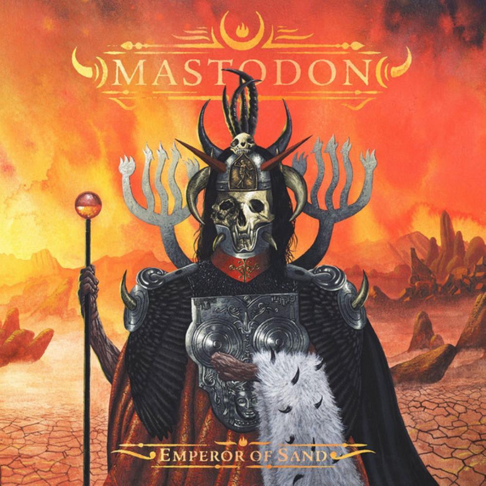 Emperor of Sand by MASTODON album cover