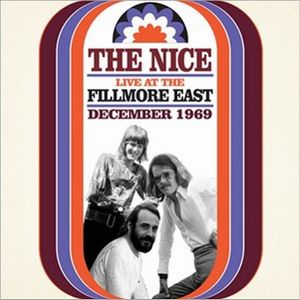 The Nice The Nice Live at Fillmore East album cover