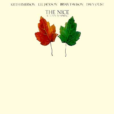 The Nice - Autumn To Spring CD (album) cover