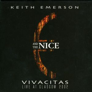 The Nice - Keith Emerson And The Nice: Vivacitas CD (album) cover