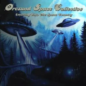 �resund Space Collective - Entering Into The Space Country CD (album) cover