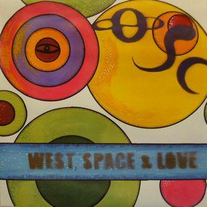 �resund Space Collective - West, Space and Love CD (album) cover