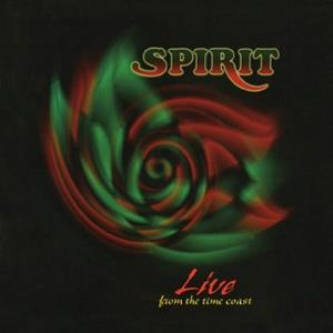 Spirit Live From The Time Coast album cover