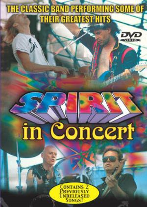 Spirit Spirit In Concert album cover