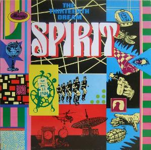 Spirit - The Thirteenth Dream/Spirit of '84 CD (album) cover