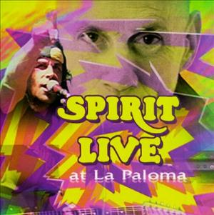Spirit Live At La Paloma album cover