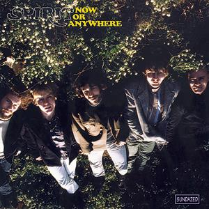 Spirit - Now Or Anywhere CD (album) cover