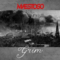 Woolly Wolstenholme's Maestoso - Grim CD (album) cover