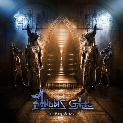 Anubis Gate - Purification CD (album) cover