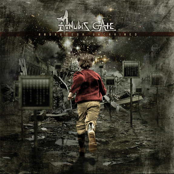 Anubis Gate - Andromeda Unchained CD (album) cover
