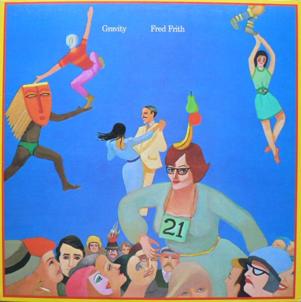 Fred Frith - Gravity CD (album) cover