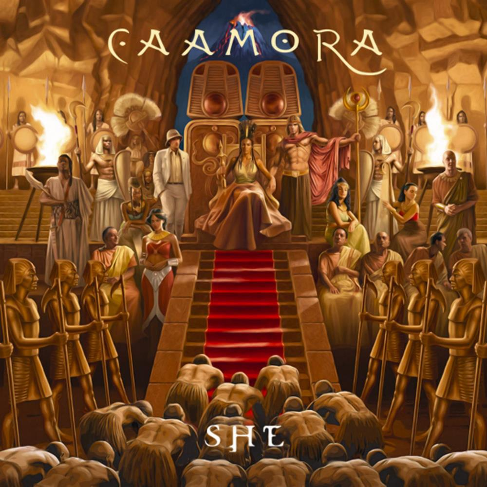 Caamora - She CD (album) cover