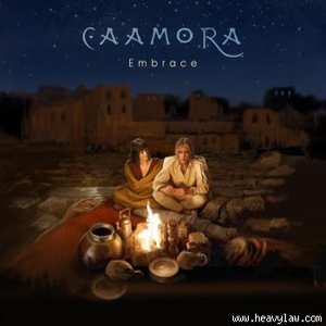 Caamora Embrace album cover