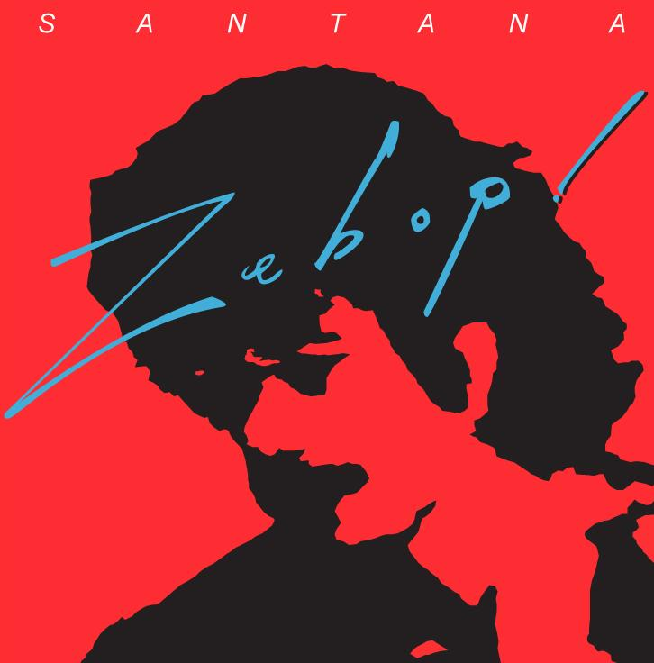 Santana - Zebop CD (album) cover