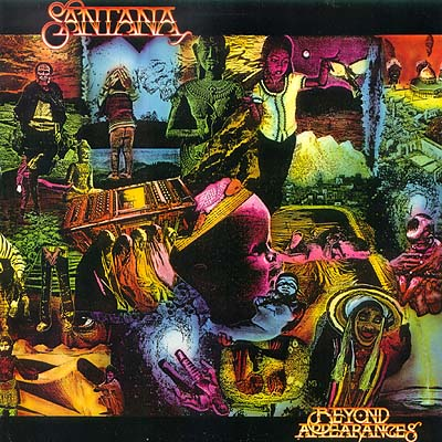 Santana - Beyond Appearances CD (album) cover
