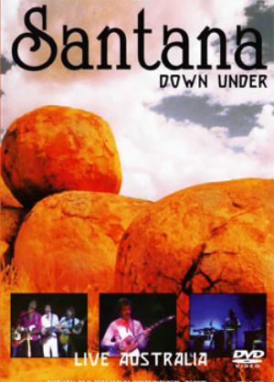 Santana Down Under, Live Australia 1979 album cover