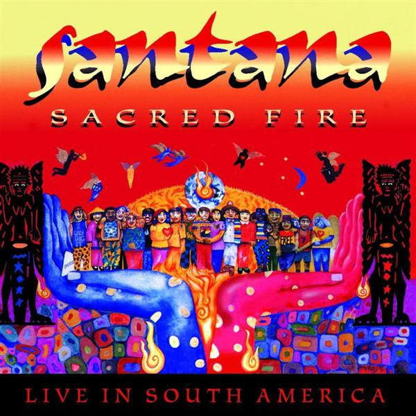 Santana Sacred Fire (Live In South America) album cover