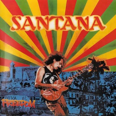Santana Freedom album cover