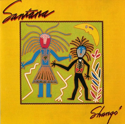 Shangó by SANTANA album cover