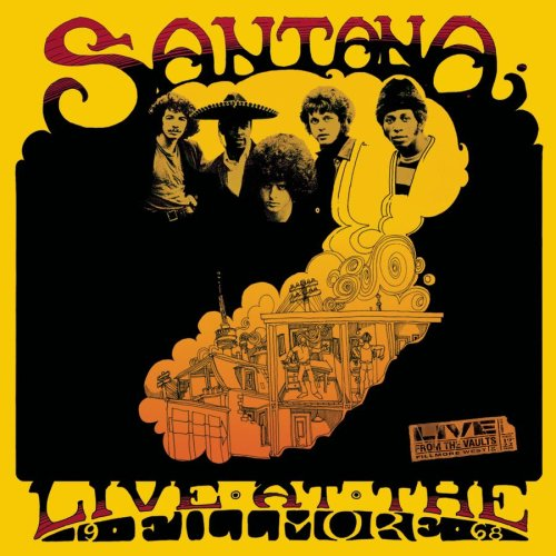 Santana Live At The Fillmore, 1968 album cover