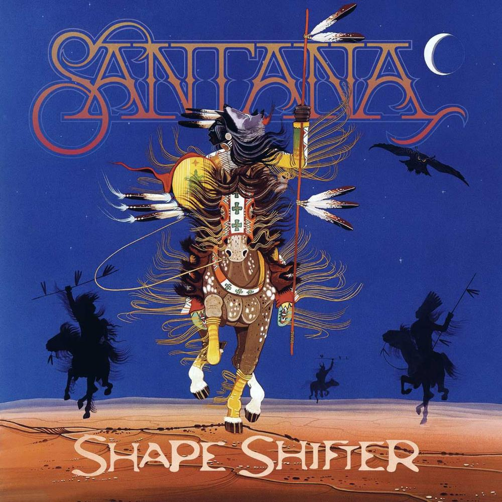 Shape Shifter by SANTANA album cover