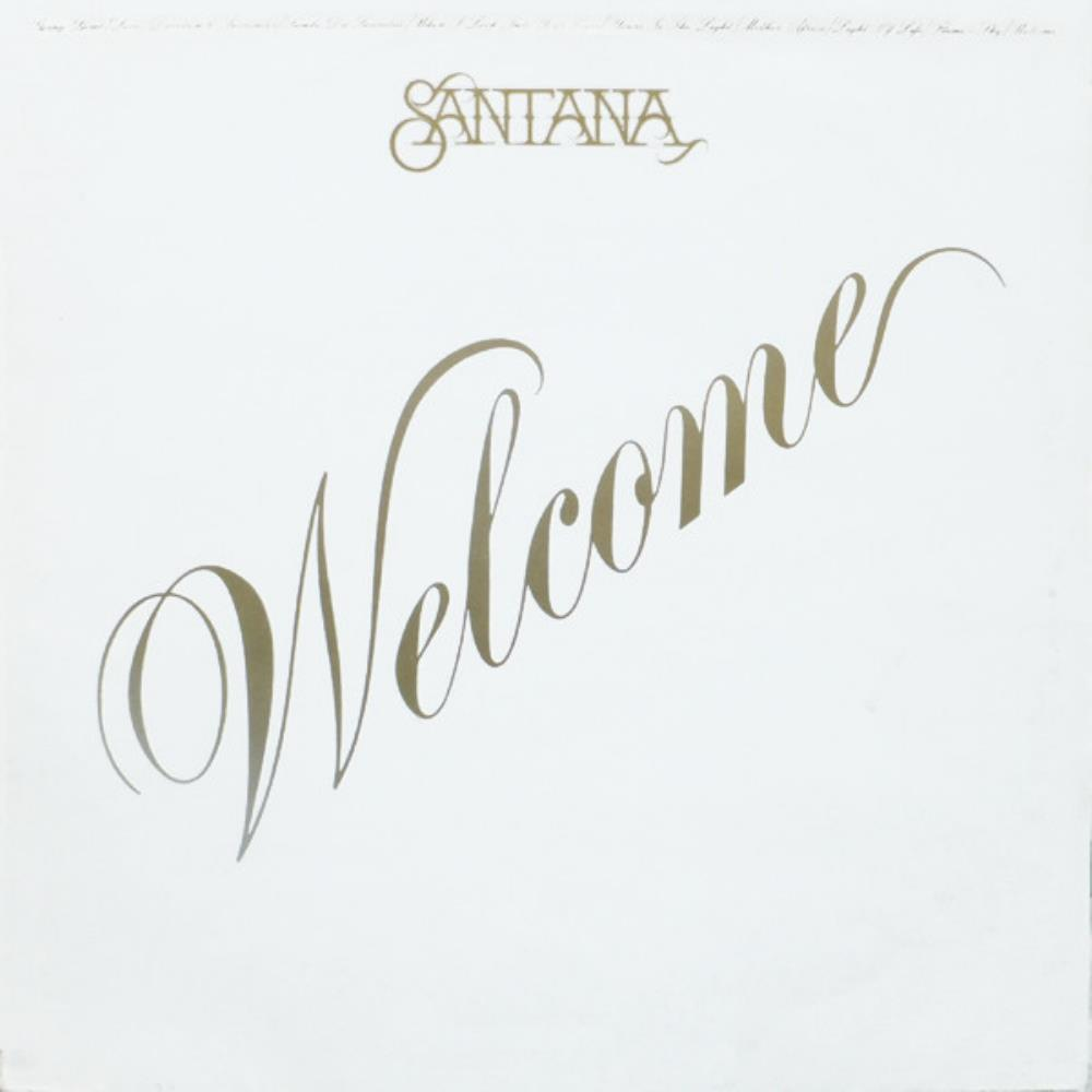 Welcome by SANTANA album cover