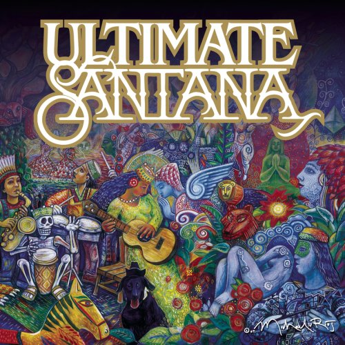 Santana - Ultimate Santana CD (album) cover