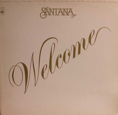 Santana - Welcome CD (album) cover