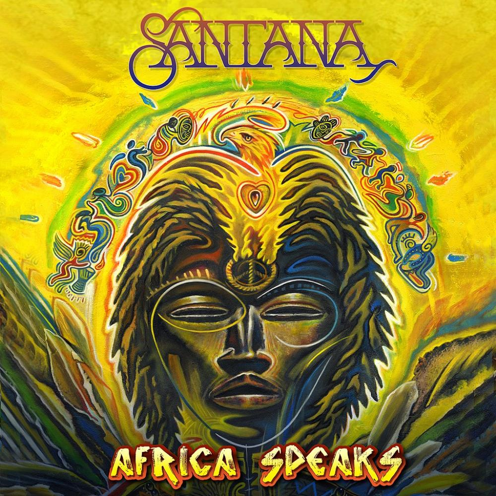 Africa Speaks by SANTANA album cover