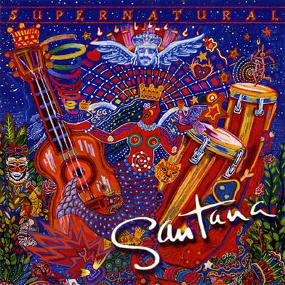 Santana - Supernatural CD (album) cover