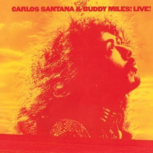 Carlos Santana - Carlos Santana And Buddy Miles! Live! CD (album) cover