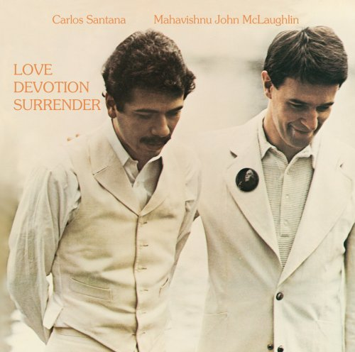Carlos Santana - Love Devotion Surrender (with John McLaughlin) CD (album) cover