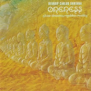 Carlos Santana Oneness, Silver Dreams - Golden Reality album cover