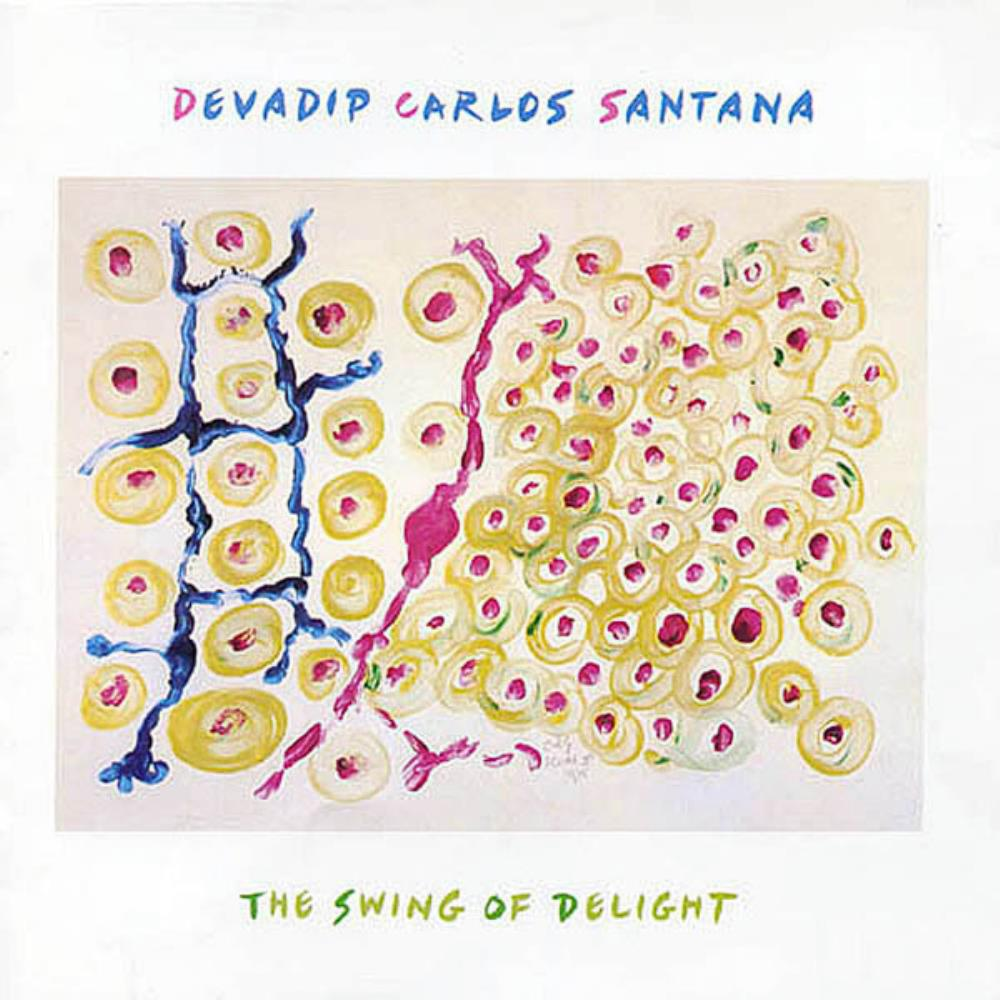 Carlos Santana The Swing Of Delight album cover