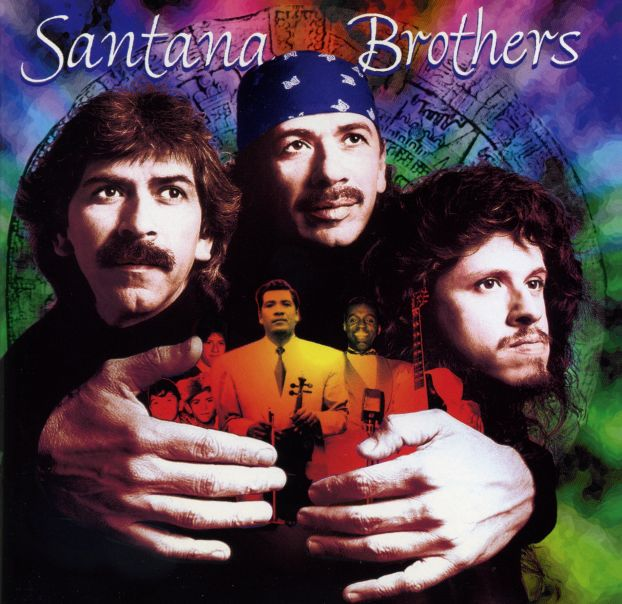 Carlos Santana - Santana Brothers CD (album) cover