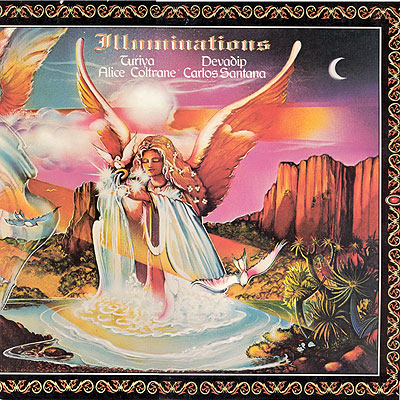 Carlos Santana - Illuminations (with Alice Coltrane) CD (album) cover