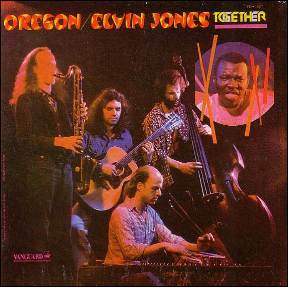 Oregon Oregon & Elvin Jones: Together album cover