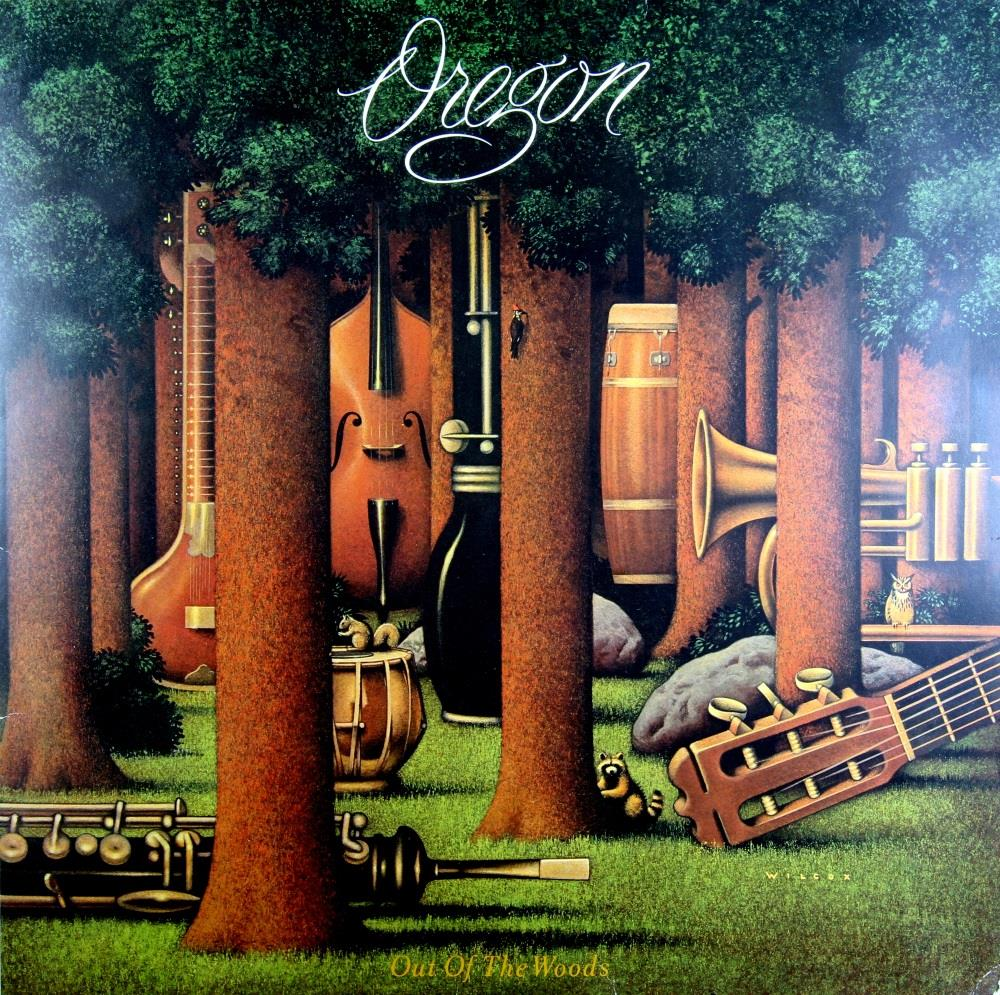 Out Of The Woods by OREGON album cover
