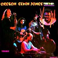 Oregon Oregon With Elvin Jones album cover