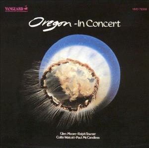 Oregon - In Concert CD (album) cover