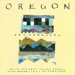 Oregon - 45th Parallel CD (album) cover