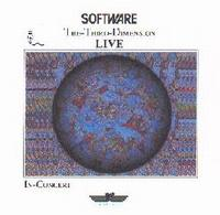 Software - The-Third-Dimension-LIVE CD (album) cover